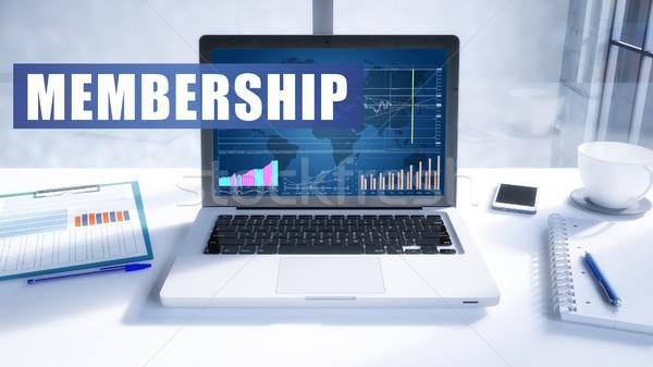 Membership Stock photo © Mazirama