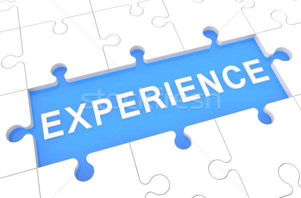 Experience Stock photo © Mazirama