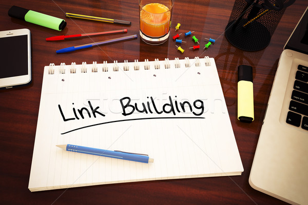 Link Building Stock photo © Mazirama