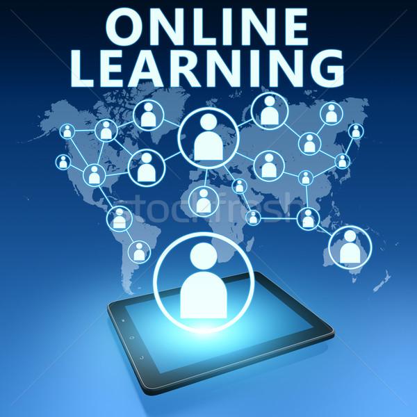 Online Learning Stock photo © Mazirama
