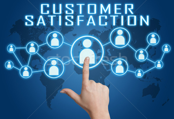 Customer Satisfaction Stock photo © Mazirama