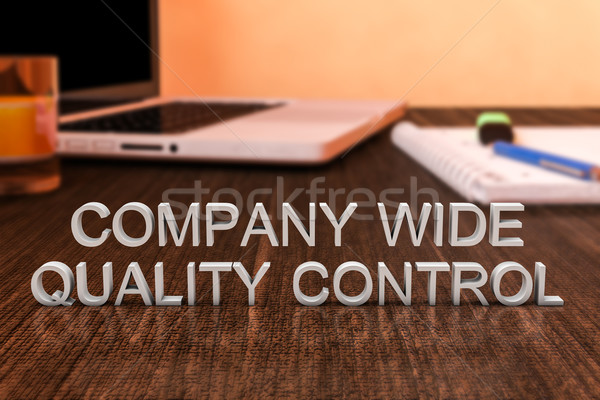 Company Wide Quality Control Stock photo © Mazirama