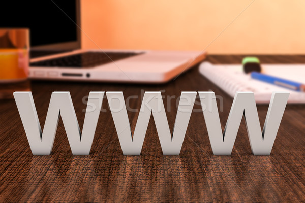 World Wide Web Stock photo © Mazirama