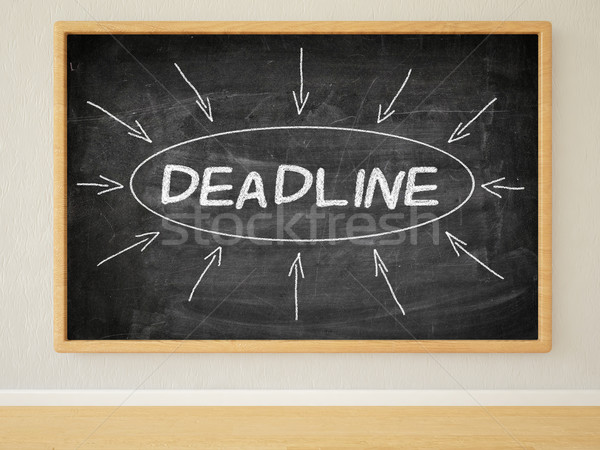 Deadline Stock photo © Mazirama