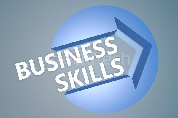 Business Skills Stock photo © Mazirama