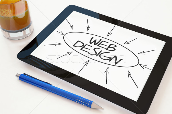 Web Design Stock photo © Mazirama