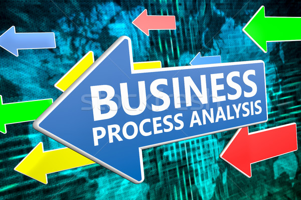 Business Process Analysis Stock photo © Mazirama