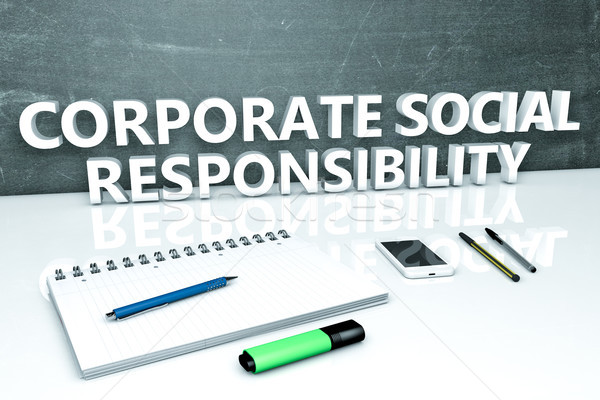 Corporate Social Responsibility Stock photo © Mazirama