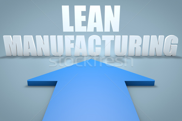 Lean Manufacturing Stock photo © Mazirama