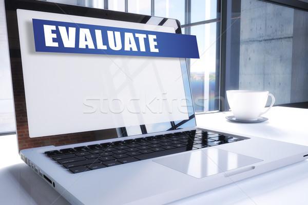 Evaluate Stock photo © Mazirama