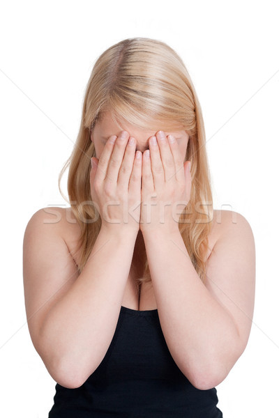 Depressed woman Stock photo © Mazirama