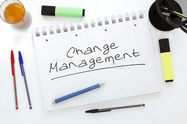 Change Management Stock photo © Mazirama