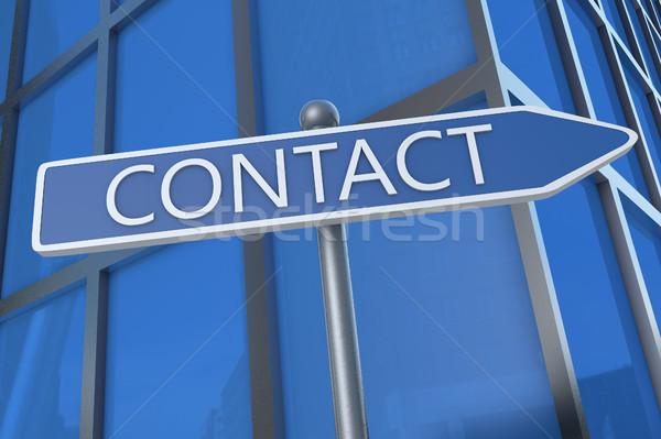 Contact Stock photo © Mazirama