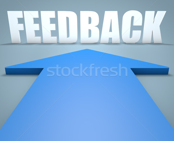 Stock photo: Feedback