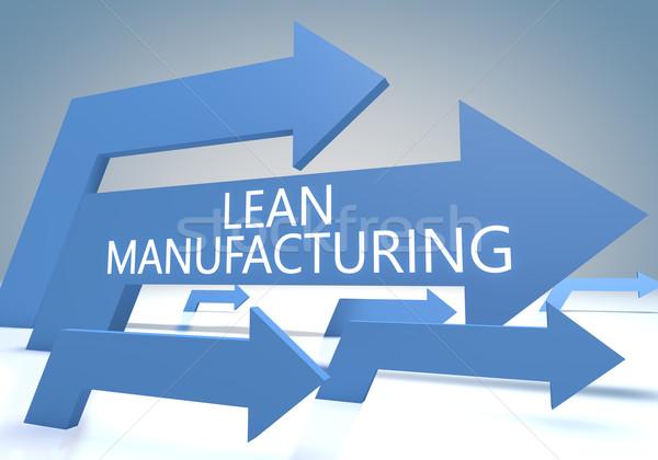 Lean Manufacturing Stock photo © Mazirama