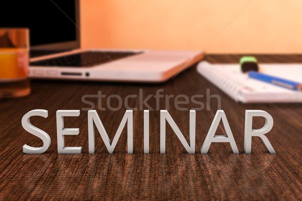 Seminar Stock photo © Mazirama