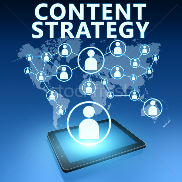 Content Strategy Stock photo © Mazirama