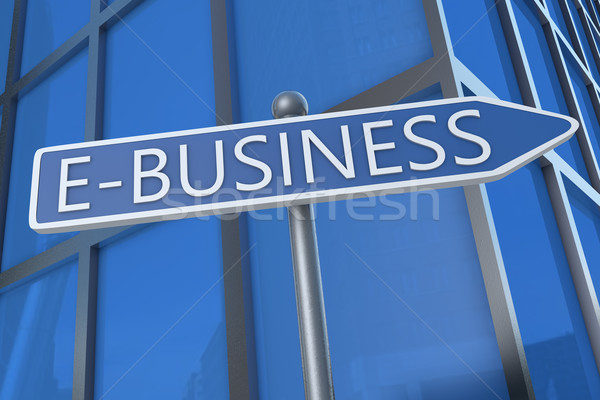 E-Business Stock photo © Mazirama