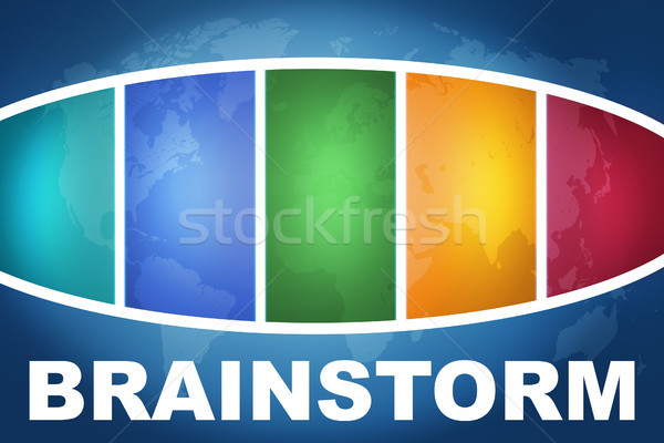 Brainstorm Stock photo © Mazirama
