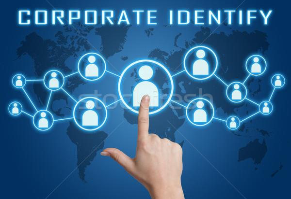 Corporate Identify Stock photo © Mazirama