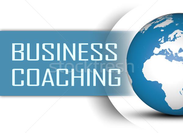 ビジネス コーチング 世界中 白 教師 学ぶ ストックフォト © Mazirama