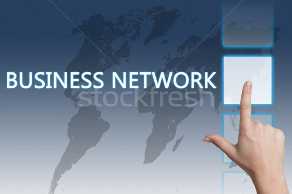 Business Network Stock photo © Mazirama