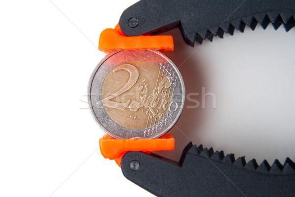 euro pressure Stock photo © Mazirama