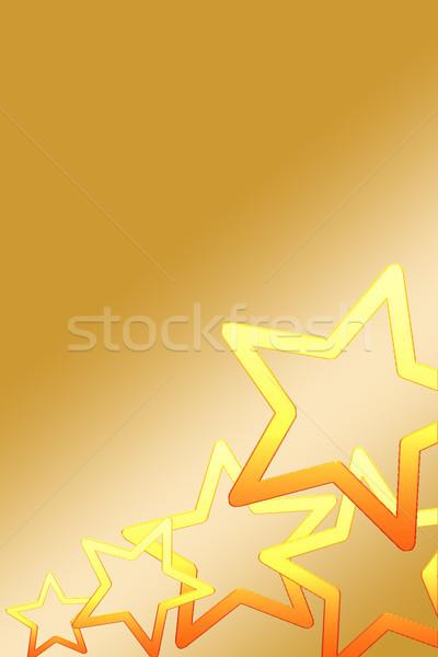 рождество карт Рождества звезды Сток-фото © Mazirama