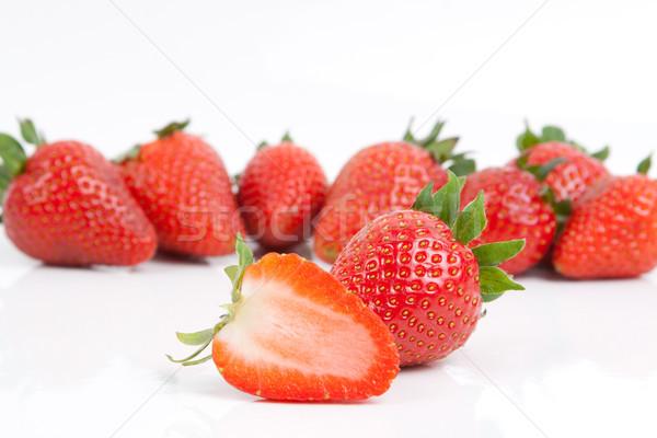 イチゴ 1 多くの 健康 赤 ストックフォト © Mazirama