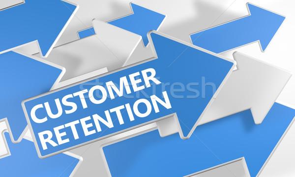 Customer Retention Stock photo © Mazirama