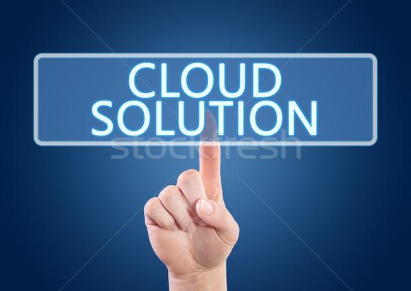 Cloud Solution Stock photo © Mazirama