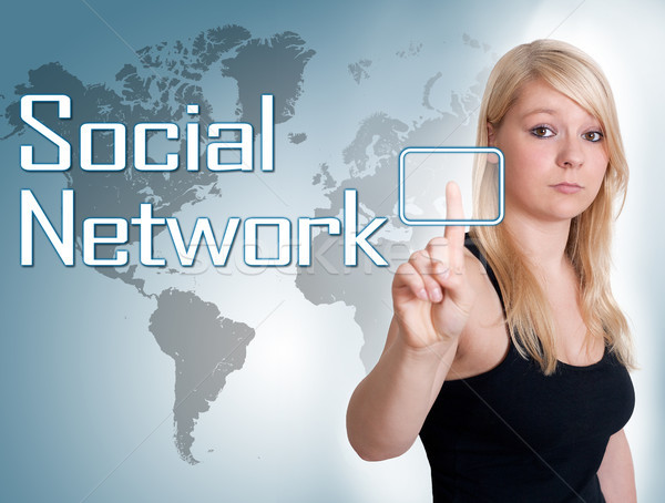 Social Network Stock photo © Mazirama