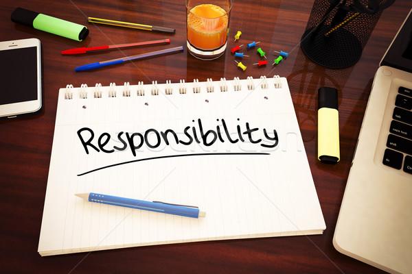 Stock photo: Responsibility