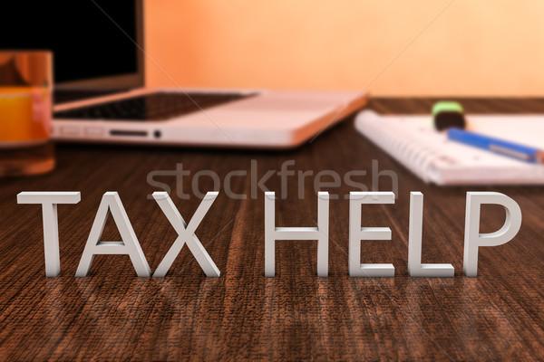 Tax Help Stock photo © Mazirama