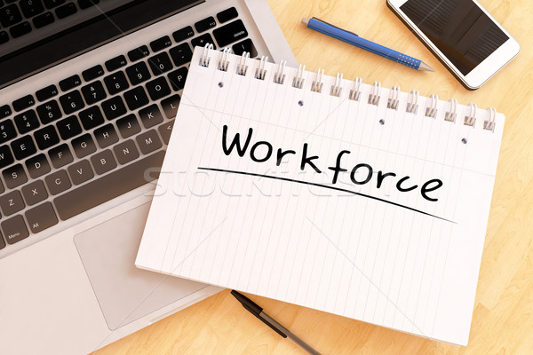 Workforce Stock photo © Mazirama