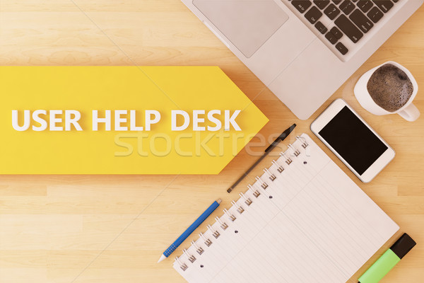 Stock photo: User Help Desk