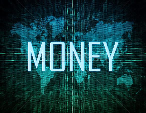 Money text concept Stock photo © Mazirama