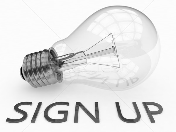 Sign up Stock photo © Mazirama