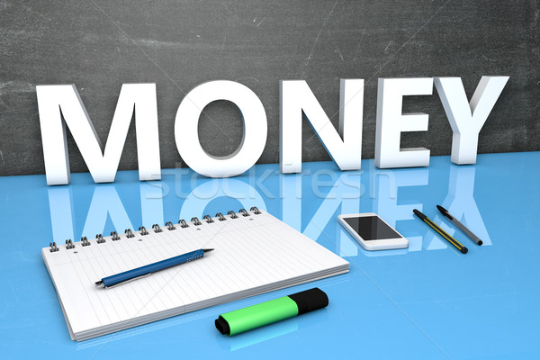 Money Stock photo © Mazirama
