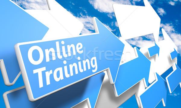 Stock photo: Online Training