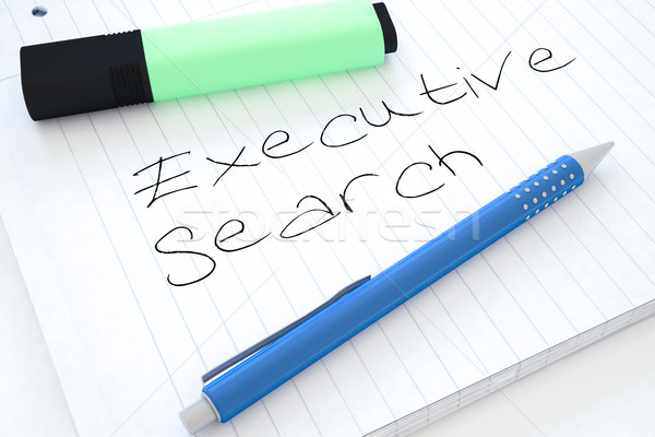 Executive Search Stock photo © Mazirama