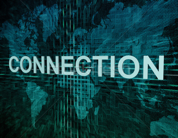 Stock photo: Connection