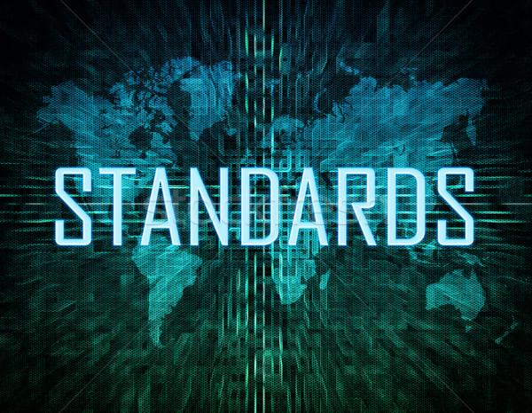 Standards Stock photo © Mazirama
