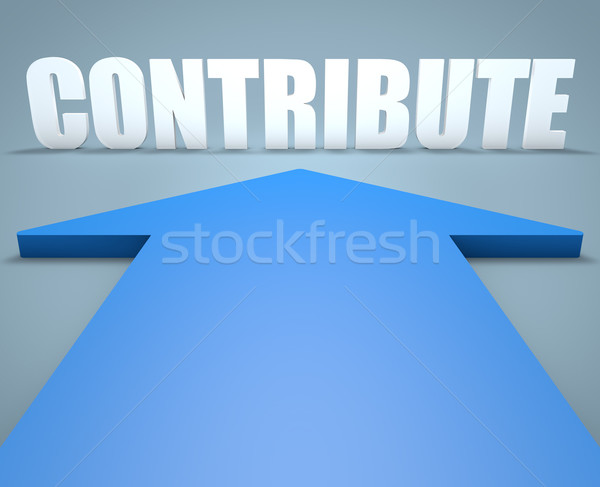 Contribute Stock photo © Mazirama