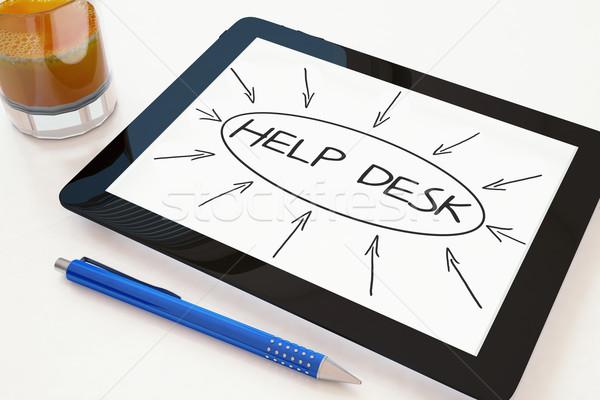 Help Desk Stock photo © Mazirama