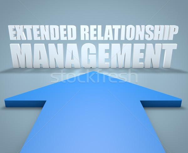 Extended Relationship Management Stock photo © Mazirama