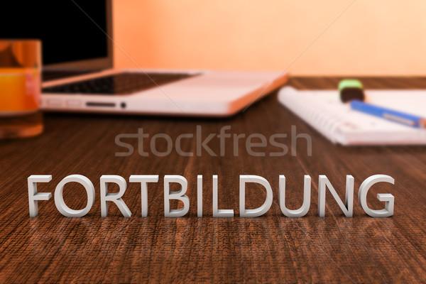 Stock photo: Fortbildung