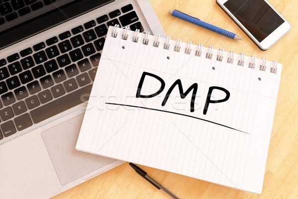 Foto stock: Dívida · gestão · plano · dados