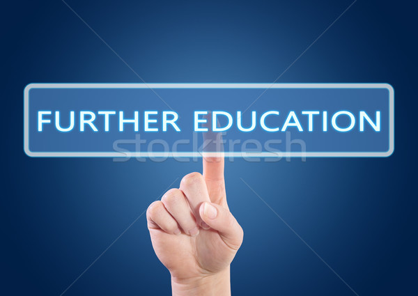 Stock photo: Further Education text concept