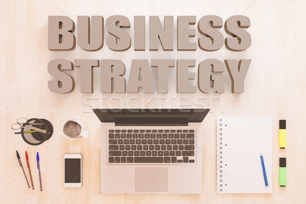 Business Strategy Stock photo © Mazirama
